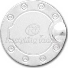 Restyling Ideas - Chevrolet Silverado Restyling Ideas Fuel Door Cover - Stainless Steel - 34-SSM-102WK