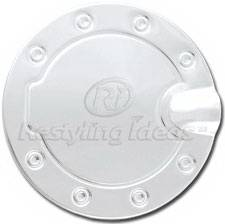 Restyling Ideas - Pontiac Firebird Restyling Ideas Fuel Door Cover - Stainless Steel - 34-SSM-108WK