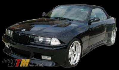 DTM Fiberwerkz - BMW 3 Series 2DR DTM Fiberwerkz Z-Max Style Wide Body Kit - E36-Z-MAX