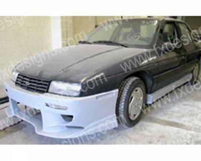 FX Designs - Chevrolet Corsica FX Design Full Body Kit - FX-1045K