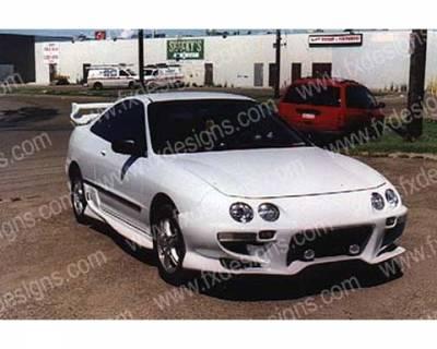 FX Design - Acura Integra FX Design Full Body Kit - FX-515K