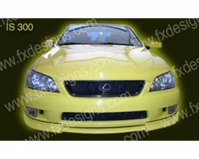 FX Designs - Lexus IS FX Design Full Body Kit - FX-6EBCHS