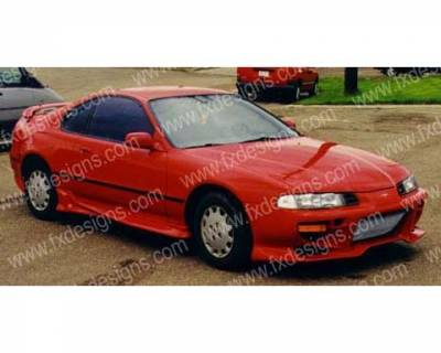 FX Design - Honda Prelude FX Design Full Body Kit - FX-718K