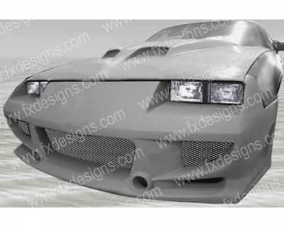 FX Designs - Chevrolet Camaro FX Design Xtreme Style Full Body Kit - FX-754K
