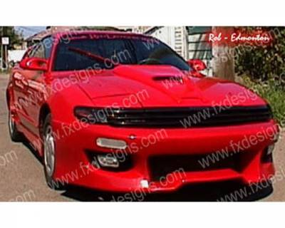 FX Designs - Toyota Celica FX Design Full Body Kit with Series 2 Style Rear Bumper Cover - FX-905K