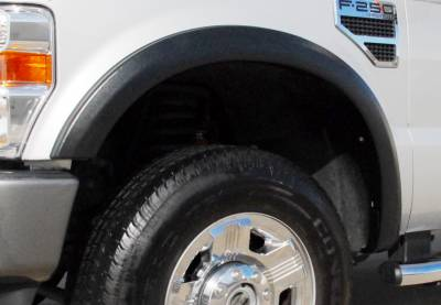 Prestige - Ford F250 Prestige Front Pair SX Street Style Textured Fender Flare Set - SX313TA