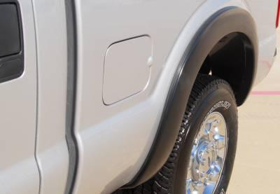 Prestige - Ford F250 Prestige Rear Pair SX Street Style Textured Fender Flare Set - SX314TB