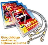 Goodridge - Goodridge G-Stop Brake Line 4-15224