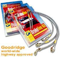 Goodridge - Goodridge G-Stop Brake Line 4-15225