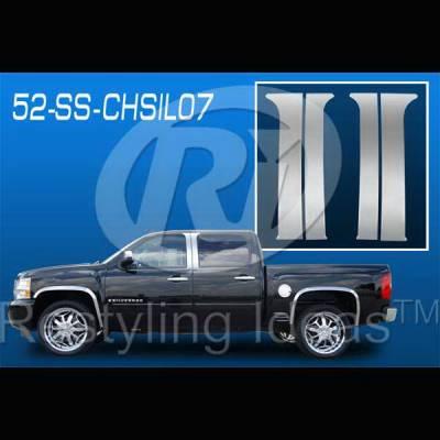 Restyling Ideas - Chevrolet Silverado Restyling Ideas Pillar Post - 52-SS-CHSIL07CC