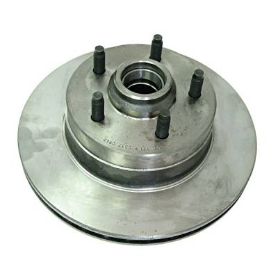 Omix - Omix Brake Rotor - Front - Rotor Only - 16702-07