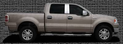 Restyling Ideas - Ford F150 Restyling Ideas Pillar Post - Stainless Steel Mirror Look - 4PC - 52-SS-FOF15044