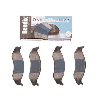 Omix - Omix Disc Brake Pad Kit - 4 Piece - 16728-14