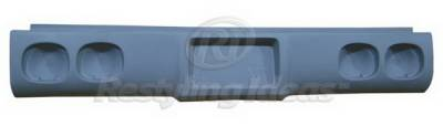 Restyling Ideas - Chevrolet CK Truck Restyling Ideas Roll Pan - Fiberglass - 61-1CV024L(844L)