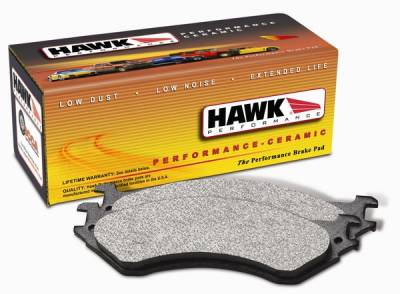 Hawk - Audi A4 Hawk Performance Ceramic Brake Pads - HB269Z763A