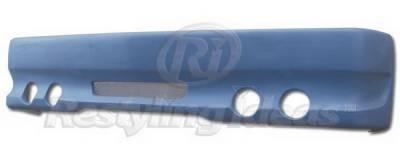 Restyling Ideas - Chevrolet C10 Restyling Ideas Bumper Cover - Fiberglass - 61-6CV88BC4L