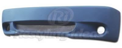Restyling Ideas - GMC C10 Restyling Ideas Bumper Cover - Fiberglass - 61-6CV88LIG(BC615)