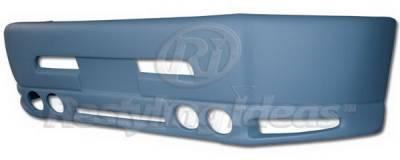 Restyling Ideas - Dodge Ram Restyling Ideas Bumper Cover - Fiberglass - 61-6DG94(BC606)