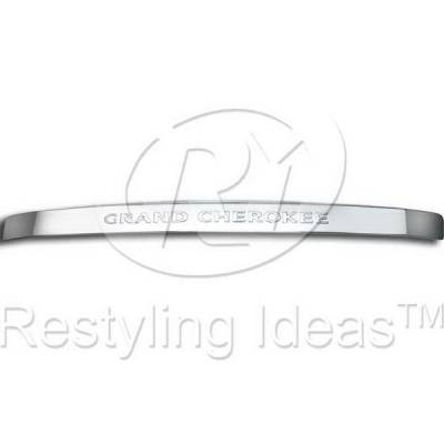 Restyling Ideas - Jeep Grand Cherokee Restyling Ideas Rear Door Molding Cover - 65215SS