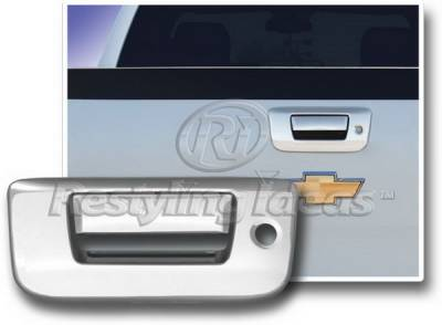 Restyling Ideas - Chevrolet Silverado Restyling Ideas Tailgate Handle Cover with Keyhole - 65225A