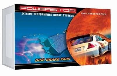 PowerStop - Power Stop Friction Z26 Series Metallic Brake Pads - Rear - 26-898