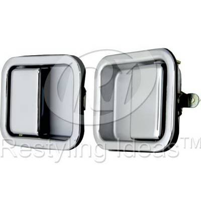 Restyling Ideas - Jeep Wrangler Restyling Ideas Door Handle - 68-JEWRA86F-2
