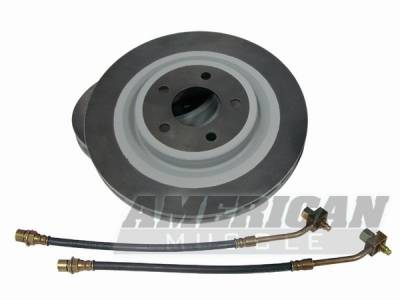 Ford Racing - Ford Mustang Ford Racing Cobra Brake Rotors and Lines - Front Only - 50058