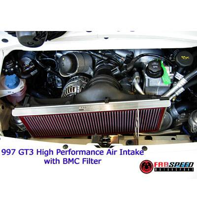 FabSpeed - GT3 High Performance Air Intake System with BMC Air Filter