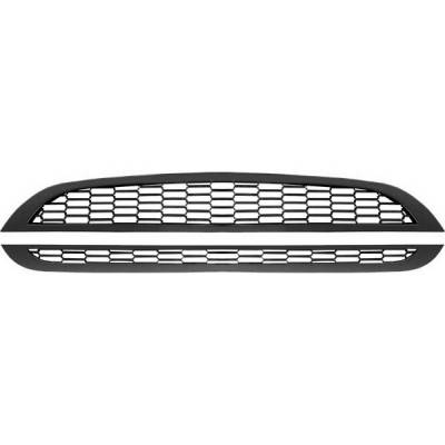 Restyling Ideas - Mini Cooper Restyling Ideas Performance Grille - 72-GB-MICOO01J-BK