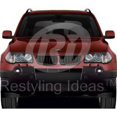 Restyling Ideas - BMW X3 Restyling Ideas Performance Grille - 72-GB-X3E8304-BB