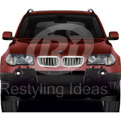 Restyling Ideas - BMW X3 Restyling Ideas Performance Grille - 72-GB-X3E8304-CCS
