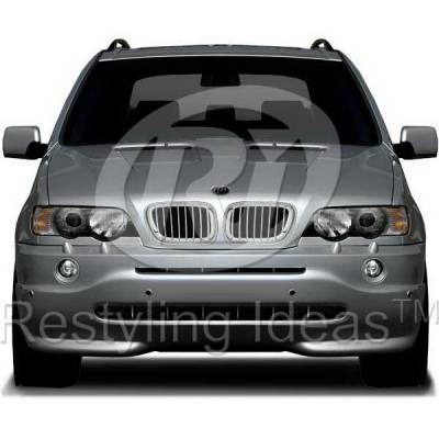 Restyling Ideas - BMW X5 Restyling Ideas Performance Grille - 72-GB-X5E5300-CCS