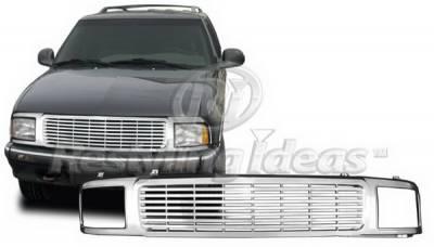 Restyling Ideas - Chevrolet Blazer Restyling Ideas Grille - 72-GC-BLA95BL