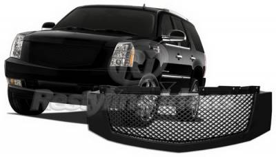 Restyling Ideas - Cadillac Escalade Restyling Ideas Grille - 72-GC-ESC07MEBK