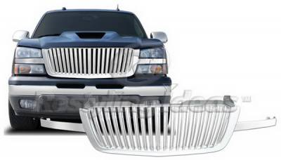 Restyling Ideas - Chevrolet Avalanche Restyling Ideas Grille - 72-GC-SIL03VB2