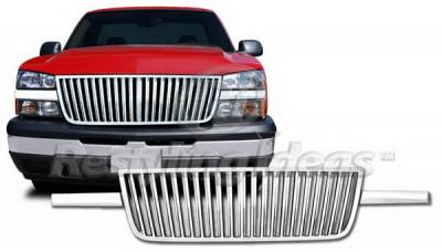 Restyling Ideas - Chevrolet Silverado Restyling Ideas Classic Grille - 72-GC-SIL05HDVB