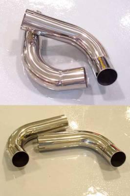 FabSpeed - Muffler Bypass Pipes