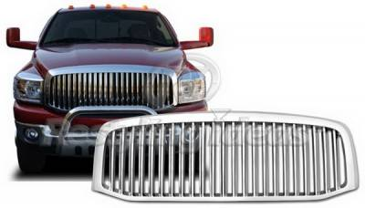 Restyling Ideas - Dodge Ram Restyling Ideas Performance Grille - 72-GD-RAM06VB