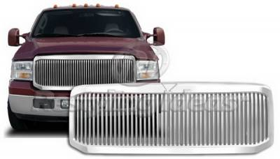 Restyling Ideas - Ford Superduty Restyling Ideas Grille - 72-GF-F25005VB