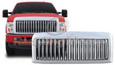 Restyling Ideas - Ford Superduty Restyling Ideas Grille - 72-GF-F2508VB
