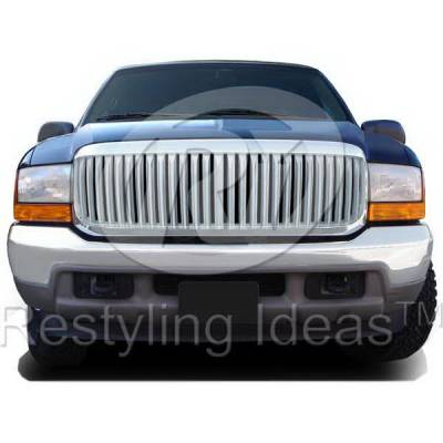 Restyling Ideas - Ford Superduty Restyling Ideas Performance Grille - 72-GF-F2599VB