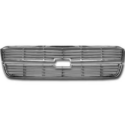 Restyling Ideas - Chevrolet Silverado Restyling Ideas Overlay Grille - 72-GI-CHSIL03-14