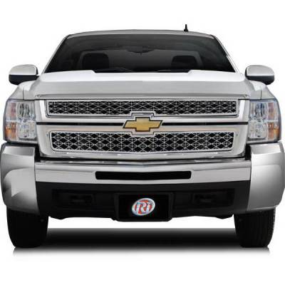 Restyling Ideas - Chevrolet Silverado Restyling Ideas Overlay Grille - 72-GI-CHSIL07HD-46