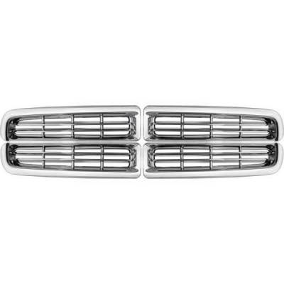 Restyling Ideas - Dodge Dakota Restyling Ideas Overlay Grille - 72-GI-DODAK97-05