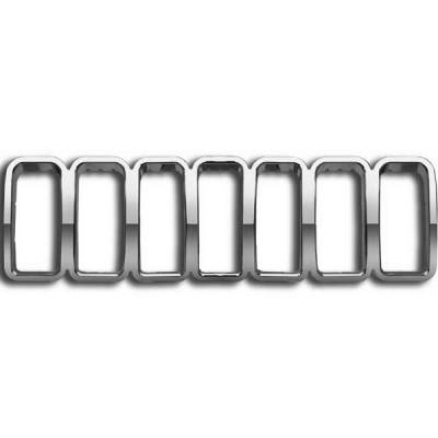 Restyling Ideas - Jeep Grand Cherokee Restyling Ideas Overlay Grille - 72-GI-JEGRA05-16