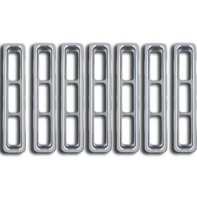 Restyling Ideas - Jeep Wrangler Restyling Ideas Overlay Grille - 72-GI-JEWRA96-01