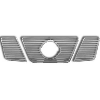 Restyling Ideas - Nissan Frontier Restyling Ideas Overlay Grille - 72-GI-NIFRO05-28
