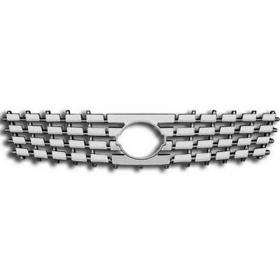 Restyling Ideas - Nissan Sentra Restyling Ideas Overlay Grille - 72-GI-NISEN07-60