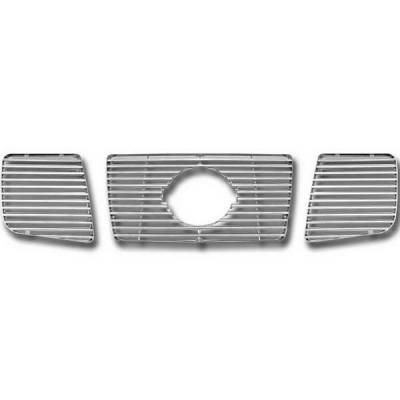 Restyling Ideas - Nissan Titan Restyling Ideas Overlay Grille - 72-GI-NITIT05-32