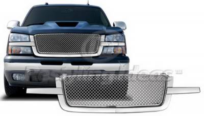 Restyling Ideas - Chevrolet Avalanche Restyling Ideas Grille - 72-OC-SIL03ME